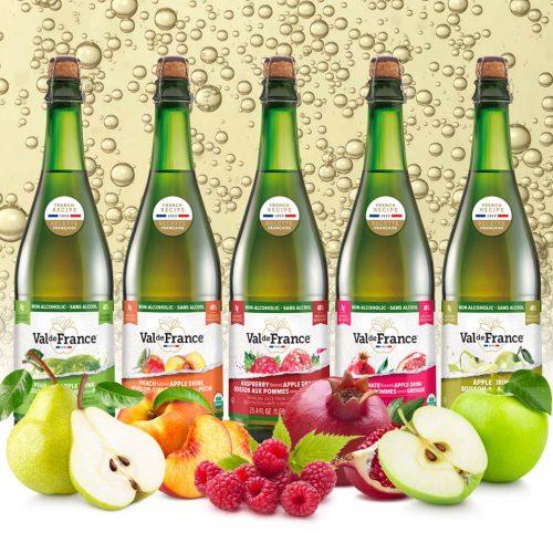 Biological sparkling juice Val-de-France